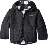 Columbia Double Trouble Jacket (Toddler) - Black Plaid - 3T