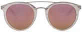Barton Perreira for FWRD Dalziel Sunglasses in White.