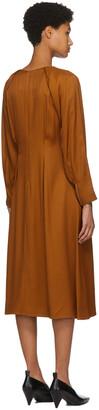 PARTOW Orange River Mid-Length Dress