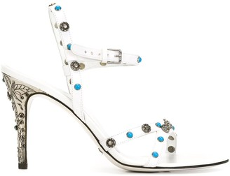 Dolce & Gabbana Pre Owned Studded Sandals
