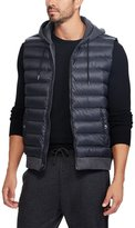 Polo Ralph Lauren Big & Tall Down-Panel Double-Knit Full-Zip Vest
