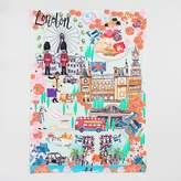 World Market London Travel Cities Kitchen Towel