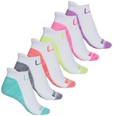 Reebok Sole-Colored Tab Socks - 6-Pack, Below the Ankle (For Women)