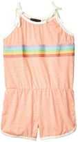 Tiny Whales Prism Romper (Toddler/Little Kids/Big Kids) (Tri Coral) Girl's Jumpsuit & Rompers One Piece