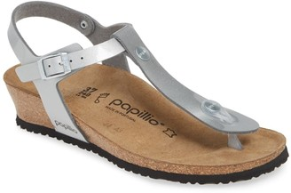 Birkenstock Papillio By 'Ashley' T-Strap Wedge Sandal - Discontinued