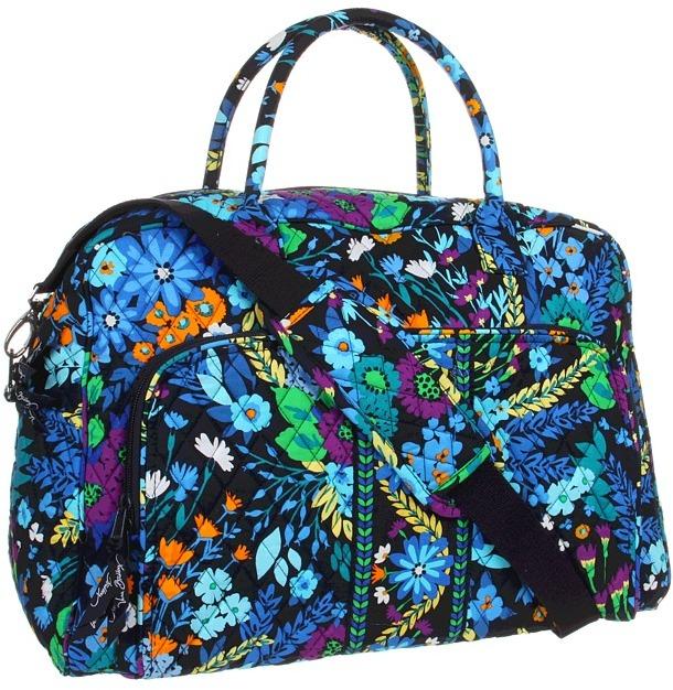 Vera Bradley Luggage Weekender (Plum Crazy) Weekender/Overnight Luggage