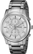 GUESS GUESS? Men's U0075G3 Stainless Steel Watch