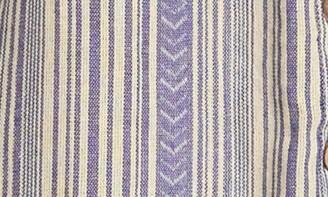 Angie Striped Chevron Midi Dress