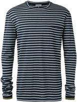 Lanvin striped t-shirt - men - Cotton - M