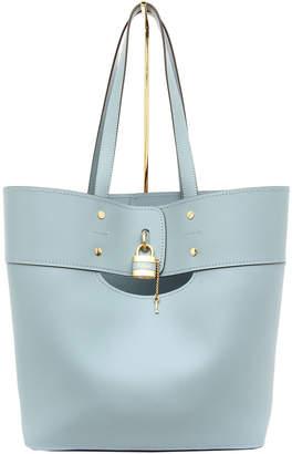 Chloé Aby Medium Lock-and-Key Tote Bag