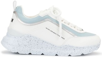 MSGM Never Look Back low-top trainers