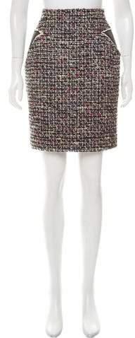Chanel Bouclé Pencil Skirt