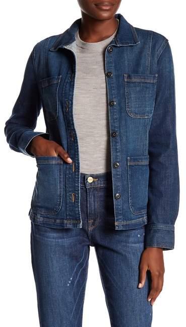 Frame Denim Long Sleeve Jacket