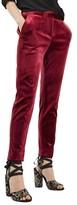 Topshop Women's Bonded Velvet Pants