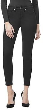 Good American Good Legs Ankle Skinny Jeans in Black001