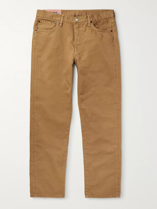 Acne Studios Slim-Fit Denim Jeans - Men - Brown