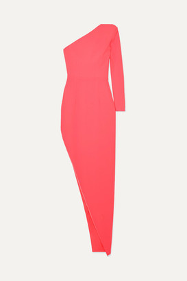 Alex Perry Jolie One-sleeve Asymmetric Crepe Dress - Pink