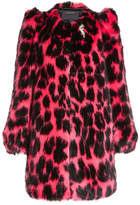 Marc Jacobs Printed Faux Fur Coat