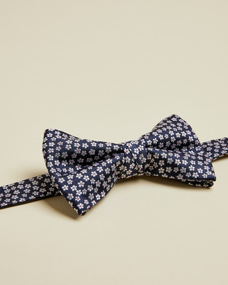 Ted Baker DAZYBOW Silk Small Floral Jacquard Bow Tie
