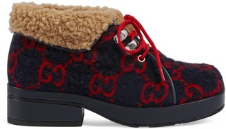 Gucci Children's GG wool boot