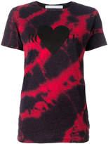 Rodarte tie dye heart logo print T-shirt