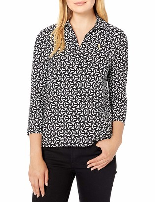 Pappagallo Women's The Susie Placket Polo