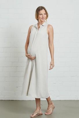 Maternity Linen Sofi Dress