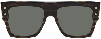 Balmain Tortoiseshell Akoni Edition B-I Sunglasses