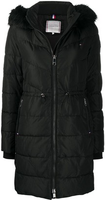 Tommy Hilfiger Padded Hooded Parka Coat