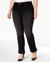 Style&Co. Style & Co Plus Size Split-Hem Jeans, Only at Macy's