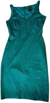 Zac Posen Turquoise Silk Dresses