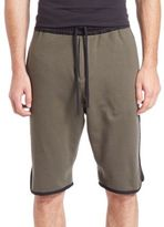 G Star Tryan Cotton Elongated Shorts