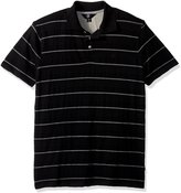 Volcom Men's Wowzer Modern Fit Stripe Cotton Polo