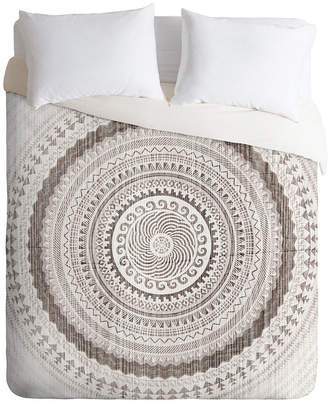 Deny Designs Iveta Abolina Winter Wheat Twin Duvet Set Bedding