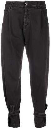 FEDERICA TOSI Tapered Trousers