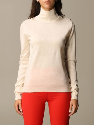 Patrizia Pepe Turtleneck With Buttons