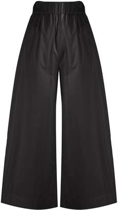 Woolrich High-Waisted Wide-Leg Trousers