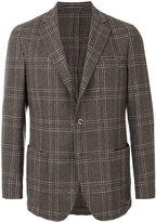 Pal Zileri plaid blazer - men - Silk/Cupro/Wool - 50