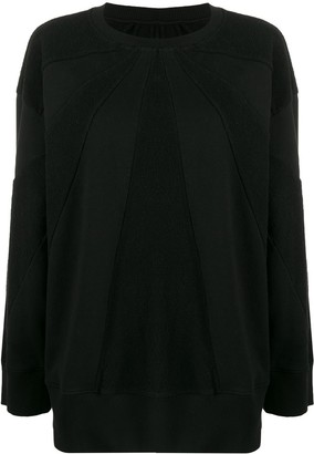 MM6 MAISON MARGIELA Panelled Boxy Sweatshirt