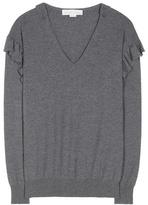 Stella McCartney Ruffled Virgin Wool Sweater