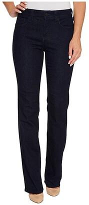 NYDJ Marilyn Straight Jeans in Rinse