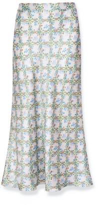 Bias Cut Skirt - Daisy Chains