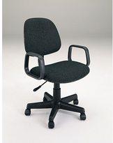 Acme Mandy Pneumatic Lift Black Fabric Office Chair