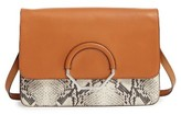 Louise et Cie Maree Convertible Leather Clutch - Pink