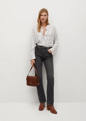 MANGO Patch pocket blouse beige - 2 - Women