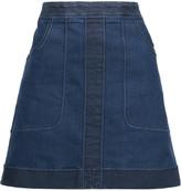 Stella McCartney Nadja stretch-denim mini skirt