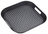 Kitchen Craft MasterClass Anti-Slip Tray, Black/Grey, 39 x 39 cm