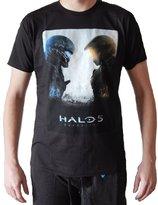 Bioworld Halo 5 Guardians Cover Art Mens T-shirt M
