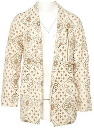 Heimstone Beige Cotton Jacket for Women