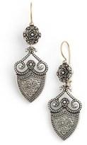 Konstantino Women's 'Silver Classics' Shield Drop Earrings